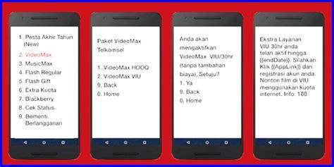 ubah paket videomax jadi kuota biasa cara menggunakan paket kuota videomax telkomsel