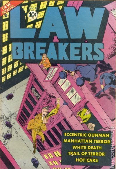the lawbreakers books lawbreakers 1951 comic books