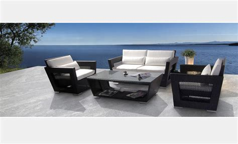 Black Outdoor Furniture by Black Patio 5 Pcs Set Vg09 Outdoor Furniture Sets