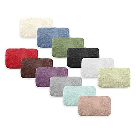 plush bath rug microdry 174 plush bath rugs and lids with memory foam bed bath beyond