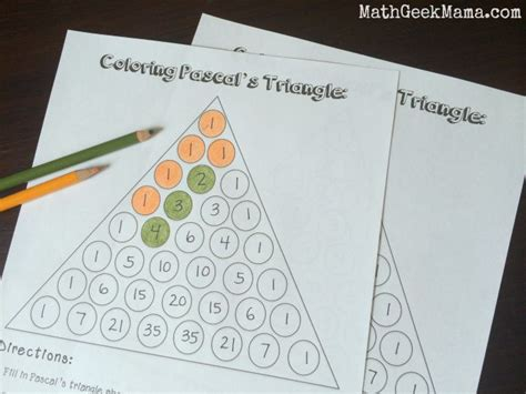 Printable Pascals Triangle