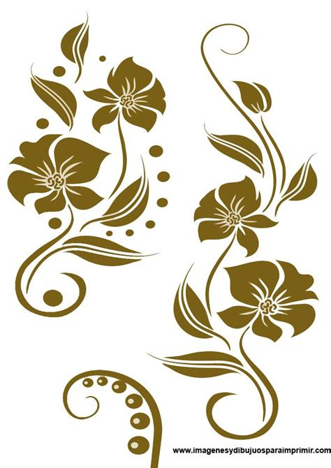 cenefas mandalas cenefas con flores mandalas pinterest cenefas