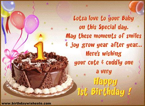 Happy Birthday Wishes For A 1 Year Birthday Wishes 1st Birthday Wishes Happy Birthday Messages