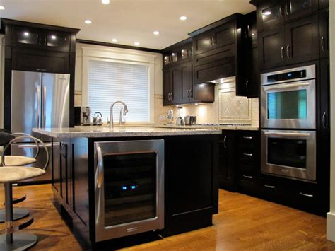 New Home Kitchen Designs Custom Modern Craftsman New Home Build Traditional Kitchen Vancouver By Jdl Homes Vancouver