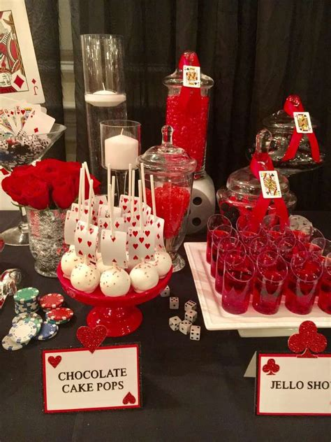 casino night dinner party party ideas photo    casino birthday casino birthday party