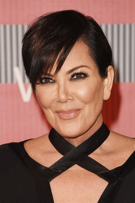 kim kardashians mums hair styles kris jenner short cut with bangs kris jenner short