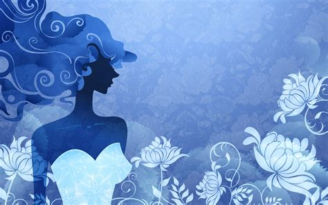 wallpaper blue girl 10 girl backgrounds wallpapers freecreatives