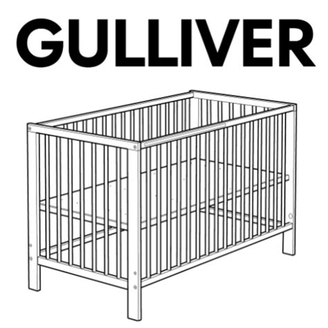 Cribs Parts by Gulliver Crib Replacement Parts Furnitureparts