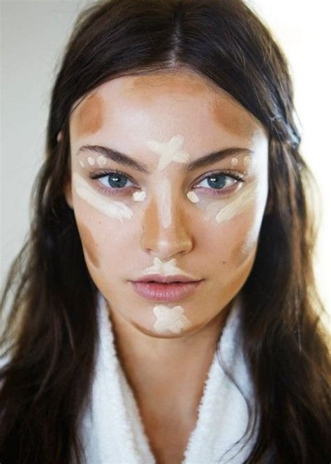 Where To Highlight Highlight And Contour Guide Southern Simplicity