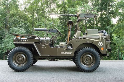 jeep gun gun runner 1950 willys m38 jeep of many