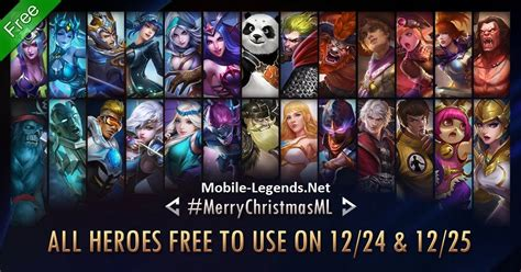 mobile legend heroes mobile legends all free min mobile legends