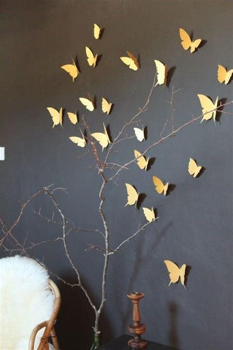 Butterfly Stickers For Wall comment utiliser le dor 233 dans son int 233 rieur cocon de