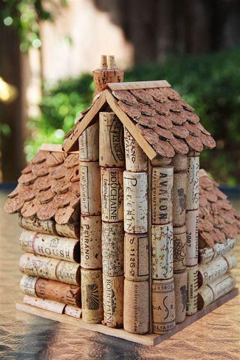 1000  images about cork bird houses on Pinterest   Birds
