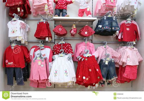 shop baby clothes babies clothes in shop stock photo image 2096590