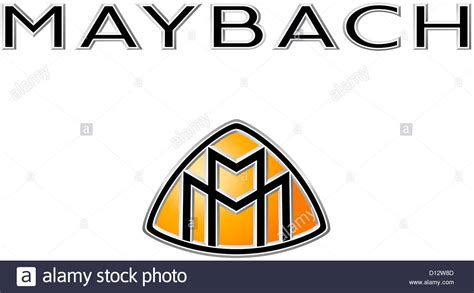 maybach automobile manufacturer logo of the luxury make of car maybach the maybach