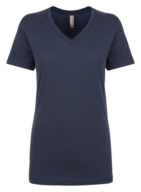 Basic Casual Greenlight next level s sleeve v neck front cover stitch