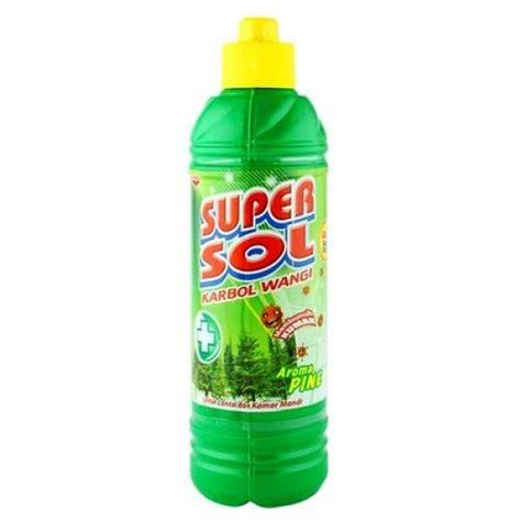 Sol Pembersih Lantai Carbol Supersol Botol 450ml