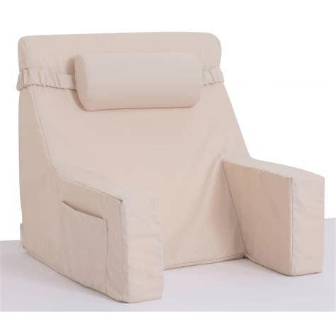 bed pillow chair bed lounger with cervical roll relax in bed chair