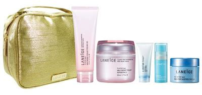Laneige Pouch Gold laneige malaysia promotion 2011