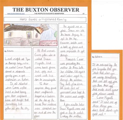 new year article newspaper articles year 5