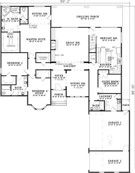 5 bedroom house plans with bonus room plan 59567nd 3 4 or 5 bedroom house plan bedrooms