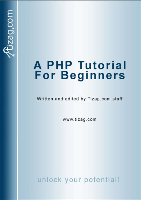 Php Tutorial Epub | php ebook tizag com