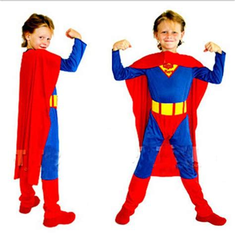new children clothes superman costumes for