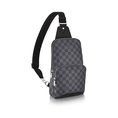 Sling Bag Kanvas 1 avenue sling bag damier graphite canvas bags louis