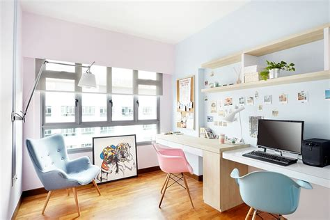 interior exquisite home office images from scandinavian trend spotting create a soothing home office with pastels