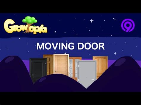 How To Move A Through A Door by Growtopia Moving Door