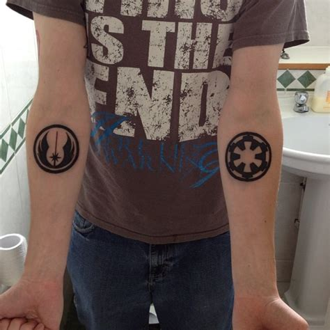 jedi tattoos jedi sith ideas