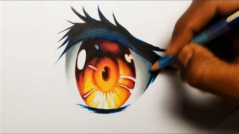 draw anime eyes simple drawing tools youtube