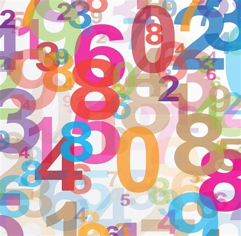 background design numbers math posters as visualization tool for math lessons
