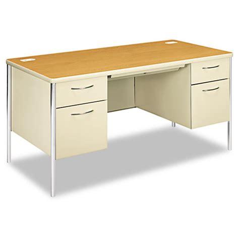 mentor office furniture hon88962cl hon mentor series pedestal desk zuma