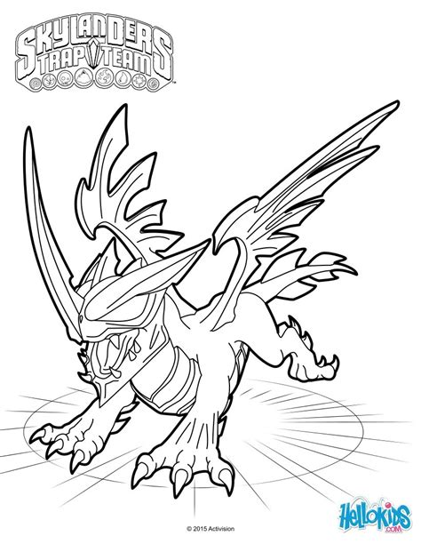 skylanders trap team coloring pages blackout coloring pages hellokids