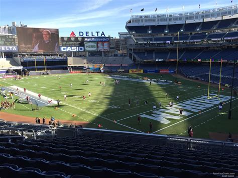 yankee stadium section 223 main level corner yankee stadium football seating