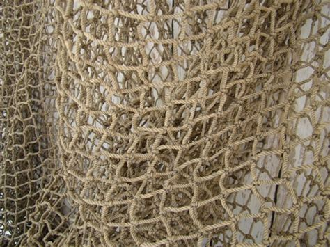 Floor And Decor Store Authentic Used Fishing Net 12 X12 Fish Netting Heavy