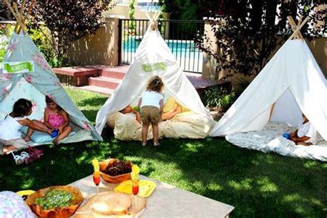 how to make a backyard teepee cheerful outdoor teepee for kids playhouse home design