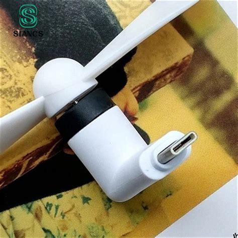 siancs cute type  micro usb  pin flexible mini fans