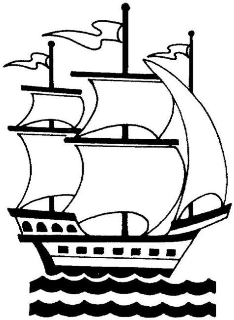 embarcaciones de cristobal colon para colorear carabelas de colon dibujos imagui