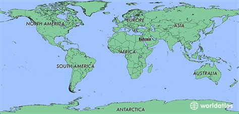 bahrain on world map where is bahrain where is bahrain located in the world