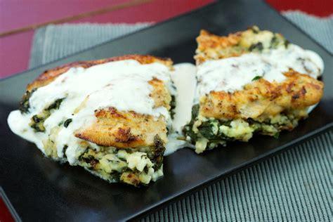 Cottage Cheese Stuffed Chicken by Our Recipes