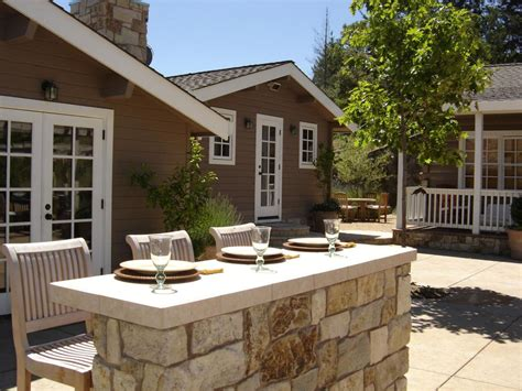 backyard patio bar photo page hgtv