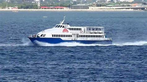 fast boat cebu to bohol m v weesam express 8 versus m v ocean jet 6 youtube