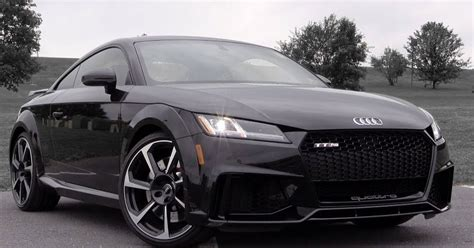 audi tt rs msrp 2019 audi tt rs price msrp coupe convertible changes