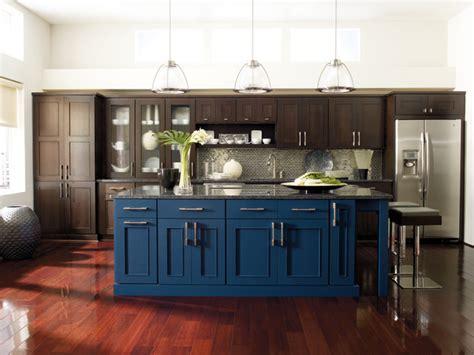 Midnight Blue Kitchen Cabinets Omega Manteo Kitchen Cabinets Modern Kitchen By Masterbrand Cabinets Inc
