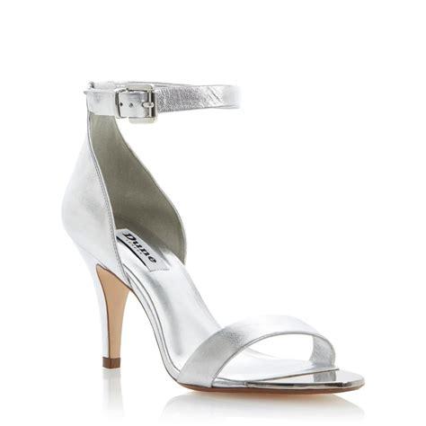 Sandal Heels Silver   Is Heel