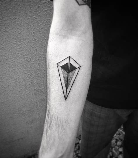 geometric patterns black and white tattoo black linear geometric tattoo