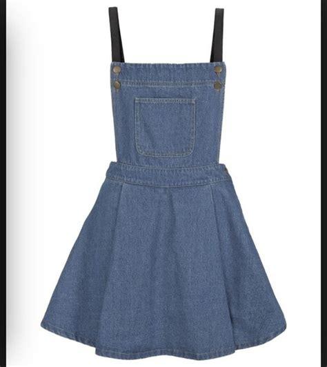 dress denim dungarees skirt wheretoget