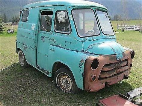 vintage dodge vans for sale 1955 or 1956 vintage dodge postal delivery panel for